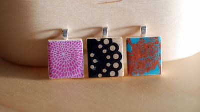 BT4 scrabble tile pendants
