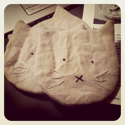 Kitty coasters