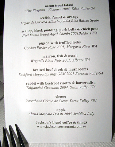 Jacksons_2006_the_menu
